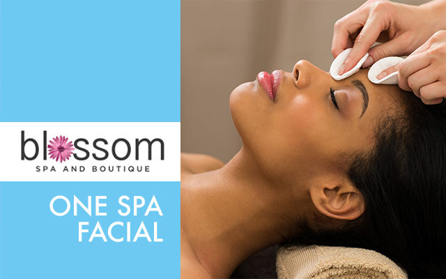 One Spa Facial for $35 from Blossom Spa!
