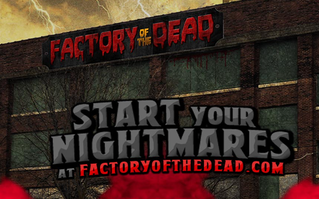 $50 for a General Admission Scare Pass to Factory of the Dead ($100 value)